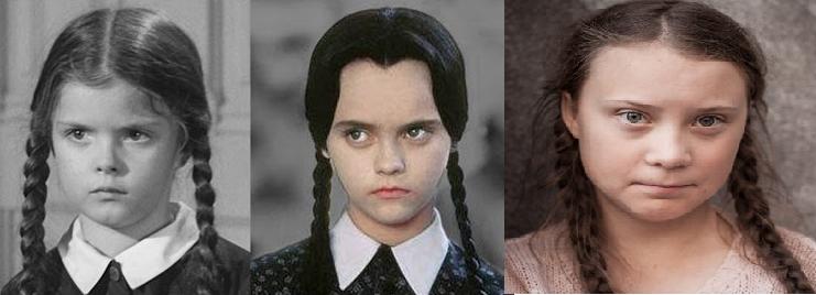 Thunberg Addams sister