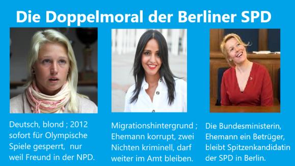 Doppelmoral der SPD
