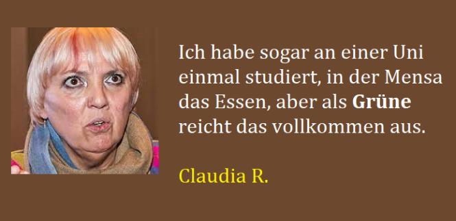 Grüne Frauenpower Claudia
